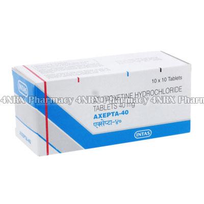 Axepta (Atomoxetine HCL)
