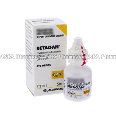 Betagan Eye Drops (Levobunolol HCL)
