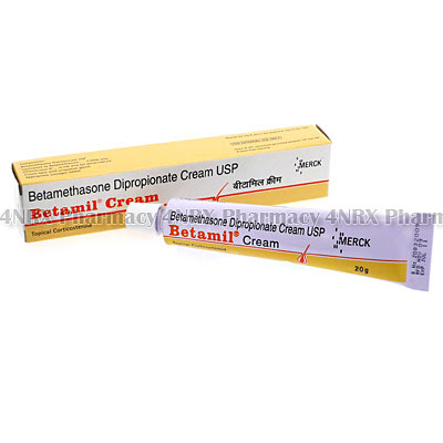Betamil Cream (Betamethasone Dipropionate USP) - 4NRX (UK)