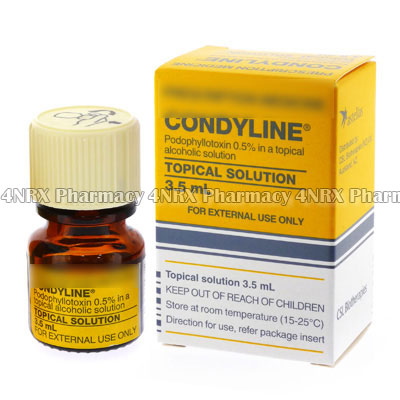 Condyline Topical Solution (Podophyllotoxin)