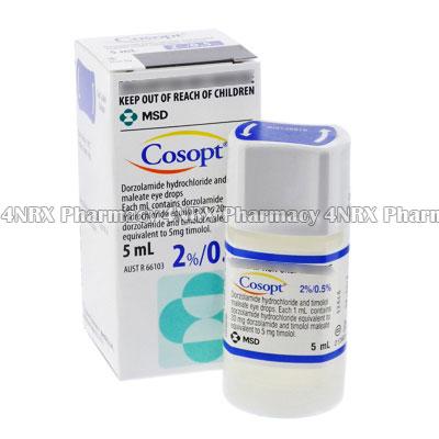 Cosopt (Timolol Maleate/Dorzolamide HCL)
