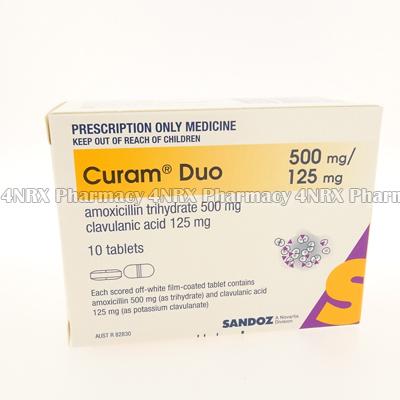 Curam Duo (Amoxicillin Trihydrate/Clavulanic Acid)