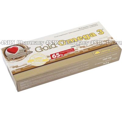 Gold Omega 3 (Fish Oil/Eicosapentaenoic Acid/Docosahexaenoic Acid/Omega-3 Acids/Vitamin E)