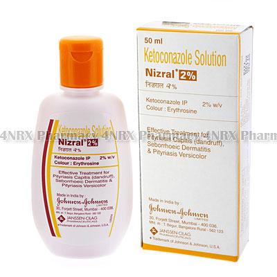 Nizral Shampoo (Ketoconazole)