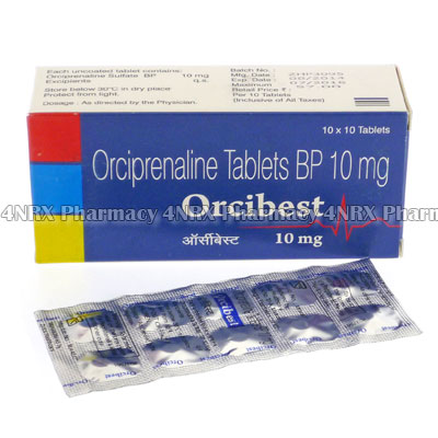 Orcibest (Orciprenaline Sulfate BP)