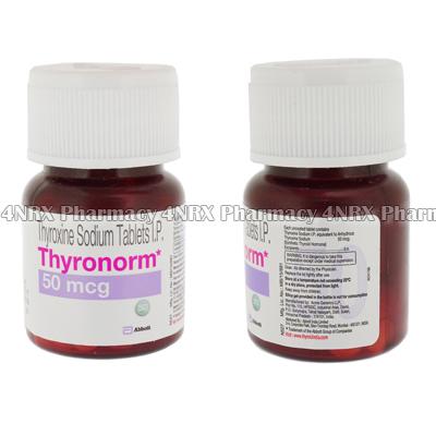 Thyronorm Thyroxine Sodium 4nrx Uk