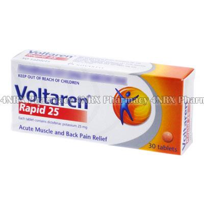 Voltaren (Diclofenac Potassium)