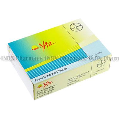 YAZ (Ethinyloestradiol/Drospirenone/Lactose)