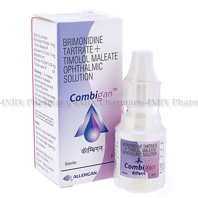 Combigan Eye Drops (Brimonidine Tartrate/Timolol Maleate)
