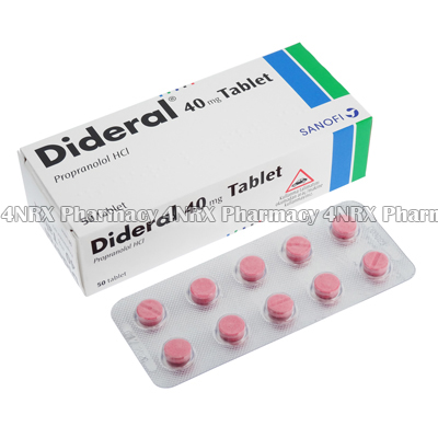 Dideral (Propranolol Hydrochloride)