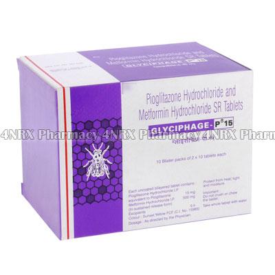 Glyciphage (Metformin/Pioglitazone)