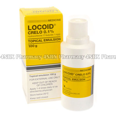 Locoid Crelo (Hydrocortisone Butyrate) - 4NRX (UK)