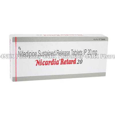 Nicardia Retard (Nifedipine)