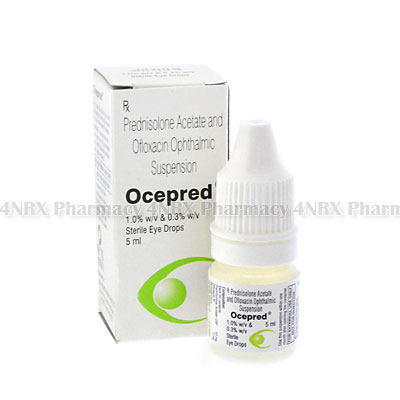 Ocepred Eye Drops (Prednisolone/Ofloxacin)
