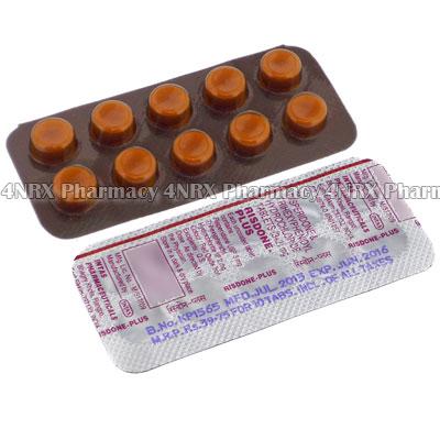 Risdone-Plus (Risperidone/Trihexyphenidyl HCL)