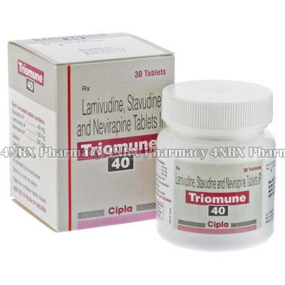 Triomune (Stavudine/Lamivudine/Nevirapine)