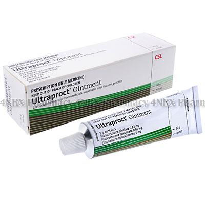 Ultraproct Ointment (Cinchocaine/Fluocortolone)