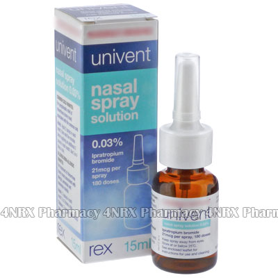 Univent Nasal Spray (Ipratropium)