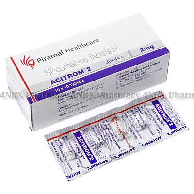 Acitrom(Nicoumalone)-2mg(100Tablets)