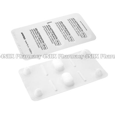 Apo-Azithromycin (Azithromycin Dihydrate) - 500mg (2 Tablets)