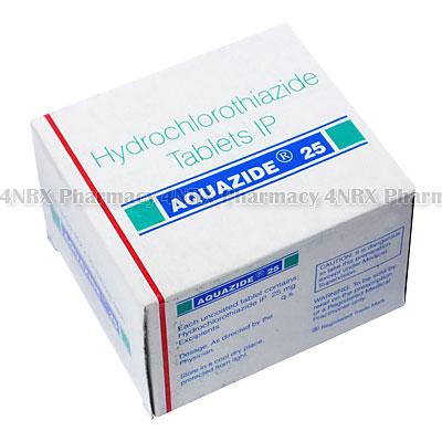 Aquazide (Hydrochlorothiazide) - 25mg