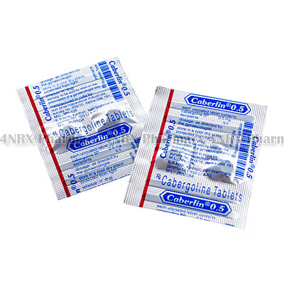 Caberlin (Cabergoline) - 0.5mg (4 Tablets)
