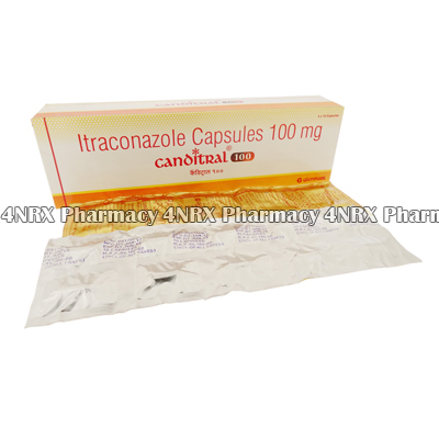 Canditral (Itraconazole) - 100mg (10 Capsules)