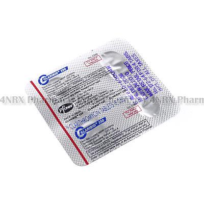 Claribid (Clarithromycin) - 250mg (4 Tablets)