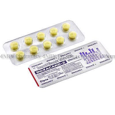 Doxacard (Doxazosin) - 2mg (10 Tablets)