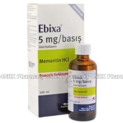 Ebixa (Memantine) - 5mg/g (100mL)