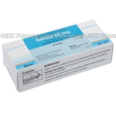 Genox (Tamoxifen Citrate) - 10mg (60 Tablets)