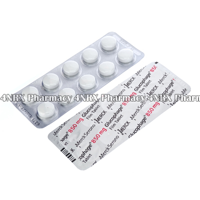 Glucophage (Metformin) 850mg