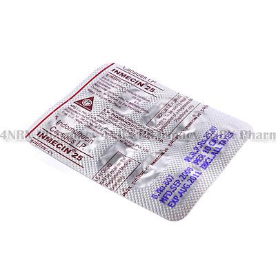 Inmecin (Indomethacin) - 25mg (10 Tablets)