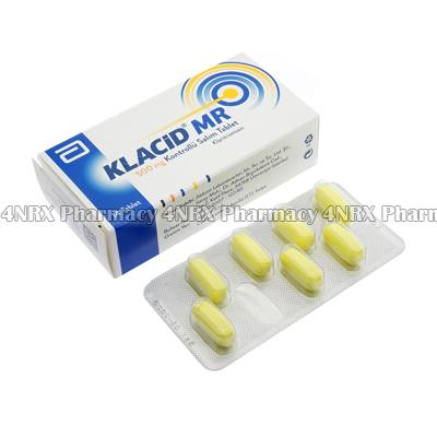 Klacid-MR (Clarithromycine) - 500mg (14 Tablets)1
