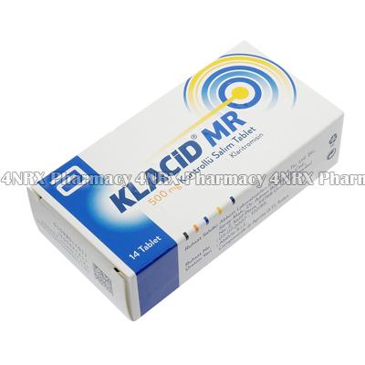 Klacid-MR (Clarithromycine) - 500mg (14 Tablets)3