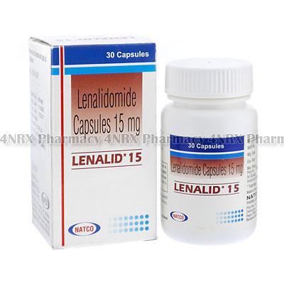 Lenalid(Lenalidomide)-15mg(30Capsules)