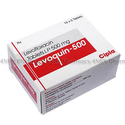 Levoquin (Levofloxacin) - 3