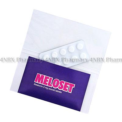 MELOSET 3 (MELATONIN) - 3MG (10 TABS)