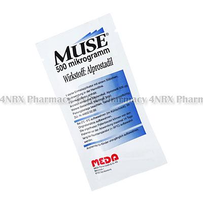 MUSE(Alprostadil)-500mcg(6x1Suppository)