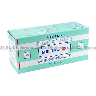 Meftal (Mefenamic Acid) - 500mg