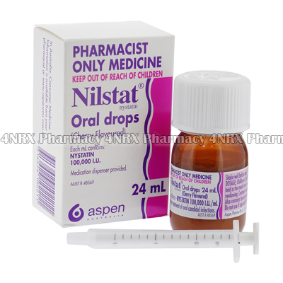 Nilstat Oral Drops (Nystatin) - 100,000 I.U. (24mL Bottle)1
