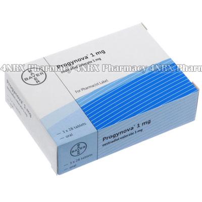 Progynova (Oestradiol Valerate) - 1mg (3 x 28 Tablets)