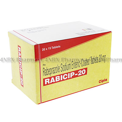 Rabicip(RabeprazoleSodium)-20mg(15Tablets)
