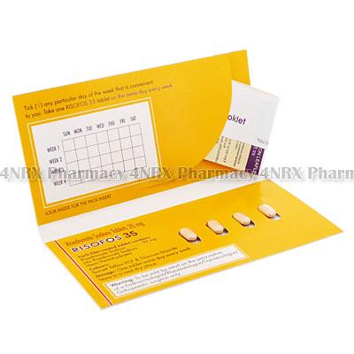 Risofos (Risedronate) - 35mg (4 Tablets)