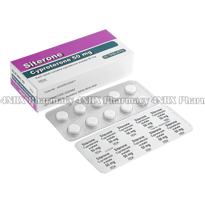 Siterone (Cyproterone Acetate) - 50mg (50 Tablets)2