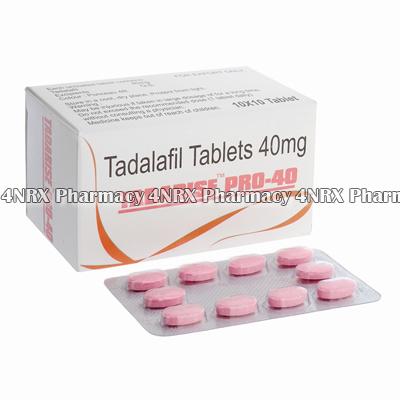 Tadarise (Generic Cialis / Tadalafil) 40mg