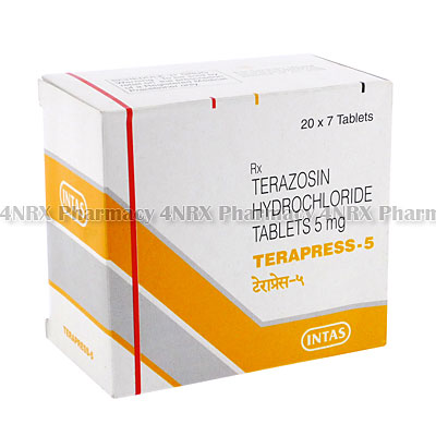 Terapress(Terazosin)-5mg(7Tablets)