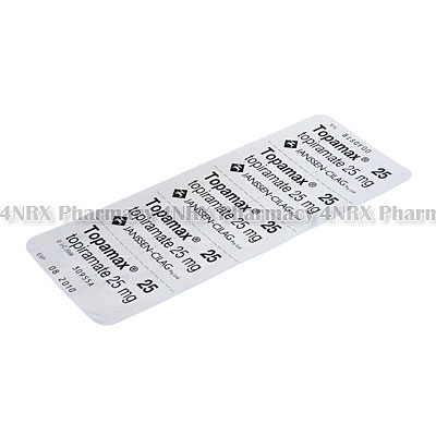 Topiramate 25mg Tablets