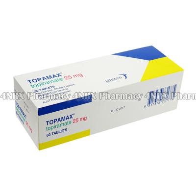 Topamax (Topiramate) - 25mg (60 Tablets)1