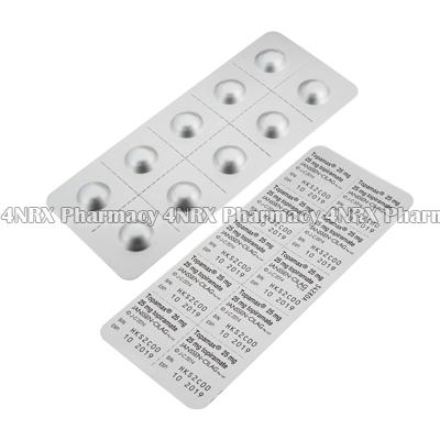 Topamax (Topiramate) - 25mg (60 Tablets)2